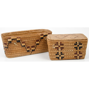 Thompson River Polychrome Baskets, From the Collection of Ronald Bainbridge, Michigan