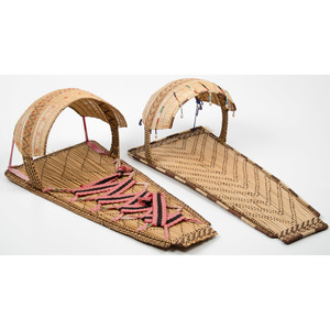 Western Mono Basketry Cradles, From the Collection of Ronald Bainbridge, Michigan