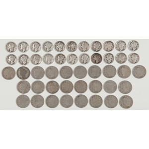 United States Liberty Head Nickels and Mercury Dimes
