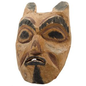 Tlingit Carved Wood Mask