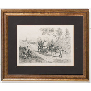 Coming Into the Lines, Civil War Print by Forbes