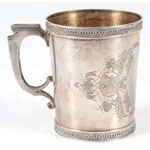 Duhme & Co. Coin Silver Mug