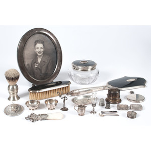 Sterling Silver Vanity Accessories and Tablewares