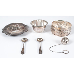 Sterling Silver Tea Accessories and Bowls