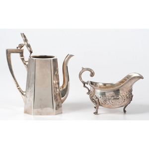 Redlich & Co. Sterling Coffee Pot, Plus