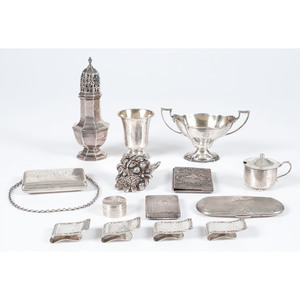 Sterling Caster, Money Clips and Other Items, Plus