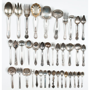 American Sterling Flatware Including Souvenir Spoons