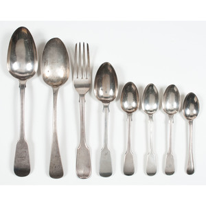 English Sterling Flatware