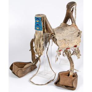 Plains Women's Saddle, From an Old Nebraska Collection