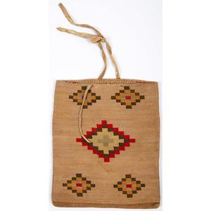 Nez Perce Corn Husk Flat Bag, From an Old Nebraska Collection