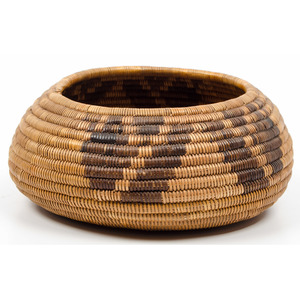 California Mission Basket, From an Old Nebraska Collection