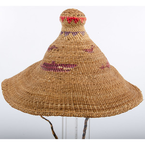 Makah / Nuu-chah-nulth Potlach Hat, From an Old Nebraska Collection