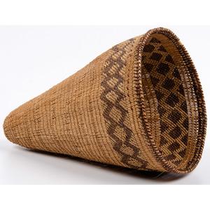Mono Burden Basket, From an Old Nebraska Collection