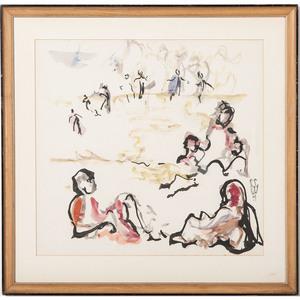 Constance Clark Willis (Louisville, 1914-2004), Watercolor