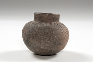 Mississippian Incised Pottery Jar