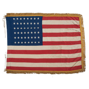 48-star American Flag Purportedly First Flown at Normandy Beach