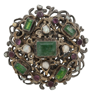 Gilt Austro Hungarian Brooch