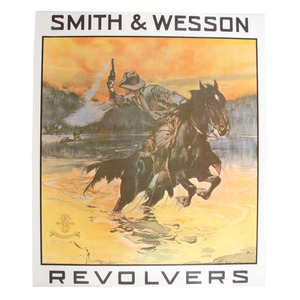 Smith and Wesson Revolvers Poster