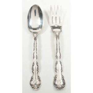 Gorham Sterling Forks and Spoons, Strasbourg