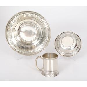 Gorham Sterling Dishes and Mug