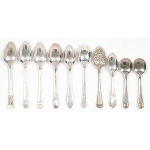 American Sterling and Silverplate Spoons