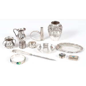 Sterling and Silverplate Tablewares and Accessories