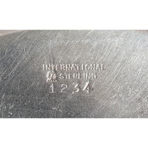 International Sterling Porringer and Other Tablewares
