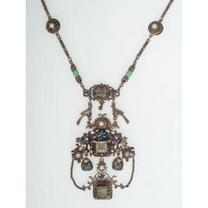 Austro Hungarian Gilt Necklace