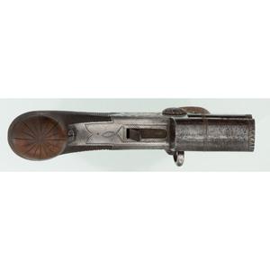 Tap Action Flintlock Boxlock Pistol