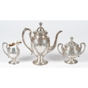 Towle Sterling Coffee Service, Old Master