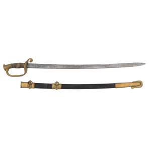 Pattern 1852 CW Naval Sword By Joseph Starkey London