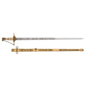 1840 Ames Presentation Militia Sword