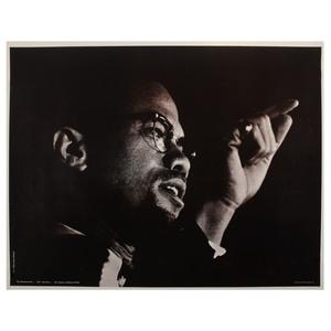Malcolm X, SNCC Poster