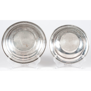 American Sterling Pierced Dishes