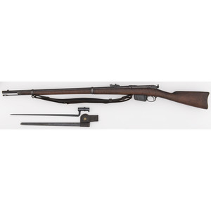 Remington Lee Model 1885 Rifle Attributed to USS Monterey
