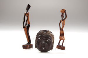 Haitian Folk Wood Carvings, Plus