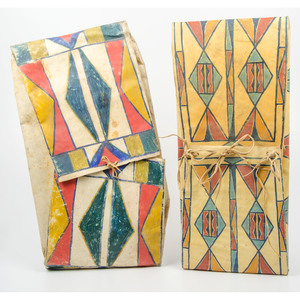 Plateau Painted Parfleche Envelopes
