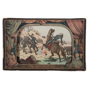 Milton Bradley's Myriopticon Toy Theater Featuring Civil War Scenes, 1866