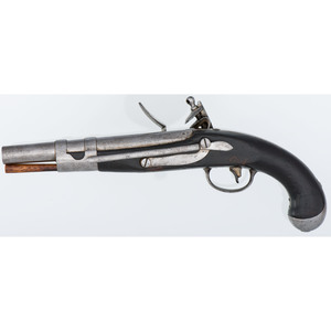 S. North Model 1813 Naval Flintlock Pistol