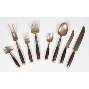 Thai Brass Flatware Set