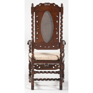 William and Mary-Style Armchair