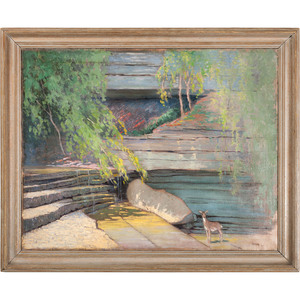 Paul Albert Plaschke (Louisville, 1880-1954), Oil