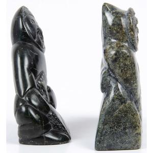 Ohito Ashoona (Inuit, b. 1952) Soapstone Sculpture PLUS