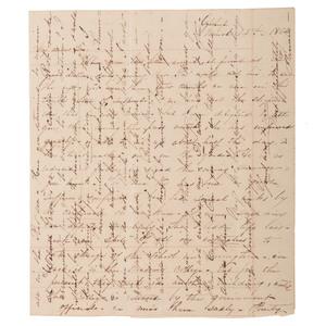 Confederate Citizen's Letter Regarding Camp Sumter, Andersonville POW Camp