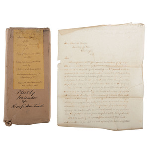 Confidential War Reports Sent to Secretary of War Edwin Stanton by Colonel A.B. Eaton, Spring 1864