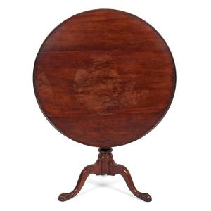 Chippendale Tilt Top Table in Walnut