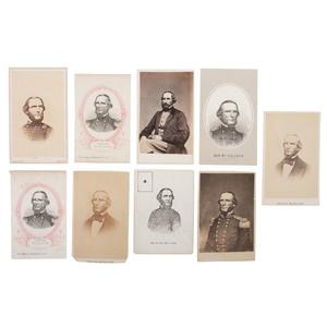 Texas Ranger, Mexican War Major, and CSA General Benjamin McCulloch CDV Collection