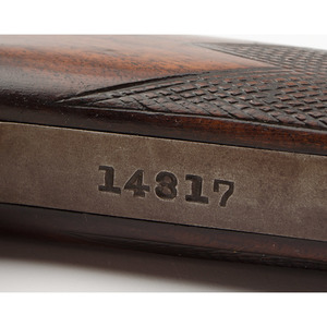** Factory Engraved Deluxe Meriden Arms Model 15 Rifle