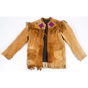 Plains Child's Beaded Hide Jacket