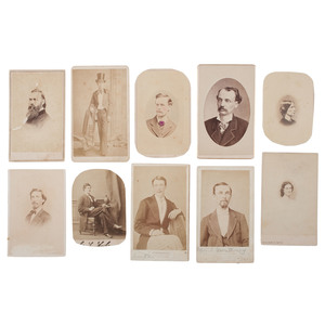CDV Collection from CSA General William H. Fitzhugh Lee's Personal Album